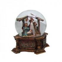 5.375 in. 100 mm Nativity Water Globe