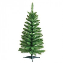 3 ft. Green Pine Artificial Christmas Tree