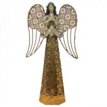 13.38 in. Lit Resin/Metal Angel in 3 Assorted