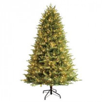 7.5 ft. Just Cut Balsam Fir EZ Light Artificial Christmas Tree with 600 Clear and Random Sparkling LED Lights