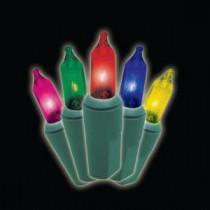 150-Light Multi-Colored 4 ft. x 6 ft. Twinkling Net Lights
