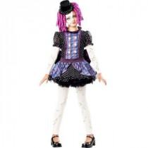 Girls Broken Doll Costume
