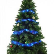 12 ft. 36-LED Blue Ribbon Lights