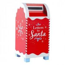 Red Letters to Santa Mailbox