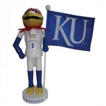 12 in. Kansas Mascot Nutcracker with Flag