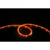 16 ft. LED Orange Rope Lights
