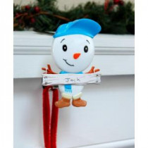 Original MantleClip Stocking Holder with Snowman Family Icon, Son-BSS0104 206998282