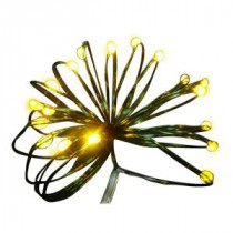 9 ft. 36-Light Battery Operated LED Gold Ultra Slim Wire (Bundle of 2)