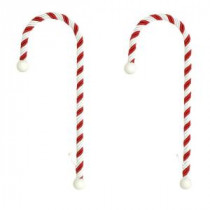 Candy Cane Stocking Holders (2-Pack)