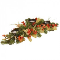 30 in. Berry/Leaf Vine Candle Holder