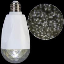 LED Projection Standard Light Bulb-Kaleidoscope White