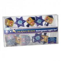 Hanukkah Hologram Light Set