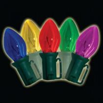 Old-Fashioned 25-Lightt C9 Multi-Color Light Set (Set of 2)