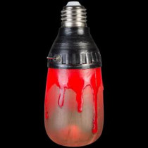 1-Light Bloody Red Short Circuit Bulb