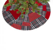 Cherry Hill Lane Collections 54 in. Patchwork Tree Skirt