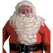 Pro Santa Full Wig and Beard Deluxe Set
