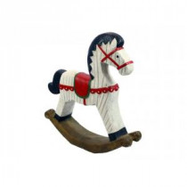 19 in. Christmas Rocking Horse