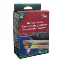 Adam&#39,s 50 ct. Gutter Hooks (2-Set)