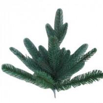 11 in. Natural Foxtail Fir Artificial Tree Branch Sample