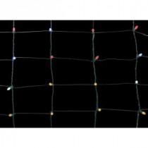 70-Light LED Multi-Color 48 in. x 48 in. Net Light Set