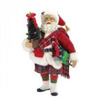 10 in. Musical Scotland Santa