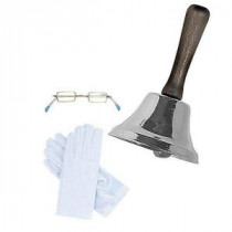 Rubie's Costumes Bell, Glasses and Gloves Santa Accessory Kit-R100K 205737054