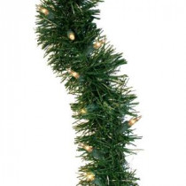36 ft. Holiday Classics Artificial Garland with 100 Clear Lights