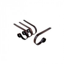 Oil-Rubbed Bronze Stocking Holder (4-Pack)