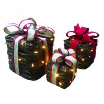 Lit Vine Gift Boxes (3-Piece)