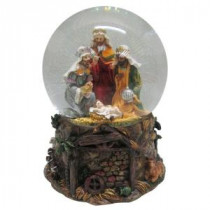 100 mm Wisemen Christmas Water Globe