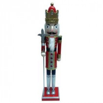 22 in. Red King Christmas Nutcracker 3 Assorted