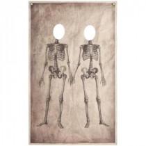 73 in. Skeleton Couple Photo Banner