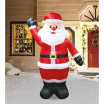 7 ft. Inflatable Animated Blinker Santa