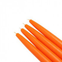 6 in. Orange Taper Candles (12-Set)