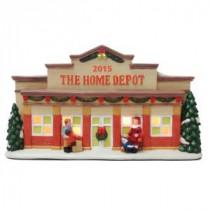 Pre-Lit Home Depot Village House