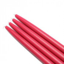 10 in. Red Taper Candles (12-Set)