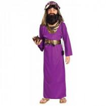 Boy&#39,s Purple Wiseman Costume