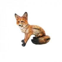 15 in. Sitting Fox Statuary