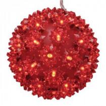 5.5 in. 50-Light LED StayBright Red Super Sphere
